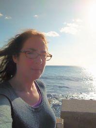 Overlooking the sea in Mazzaro dell'Vallo