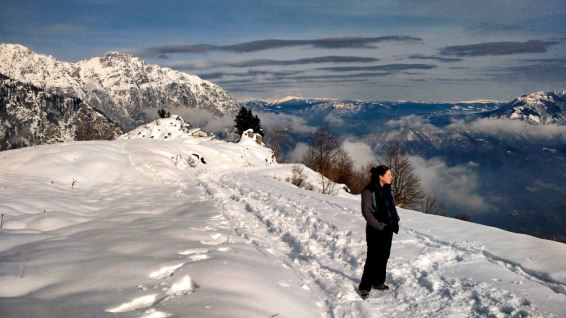 Weekend home hiking to Campogrosso, Vicenza Italy