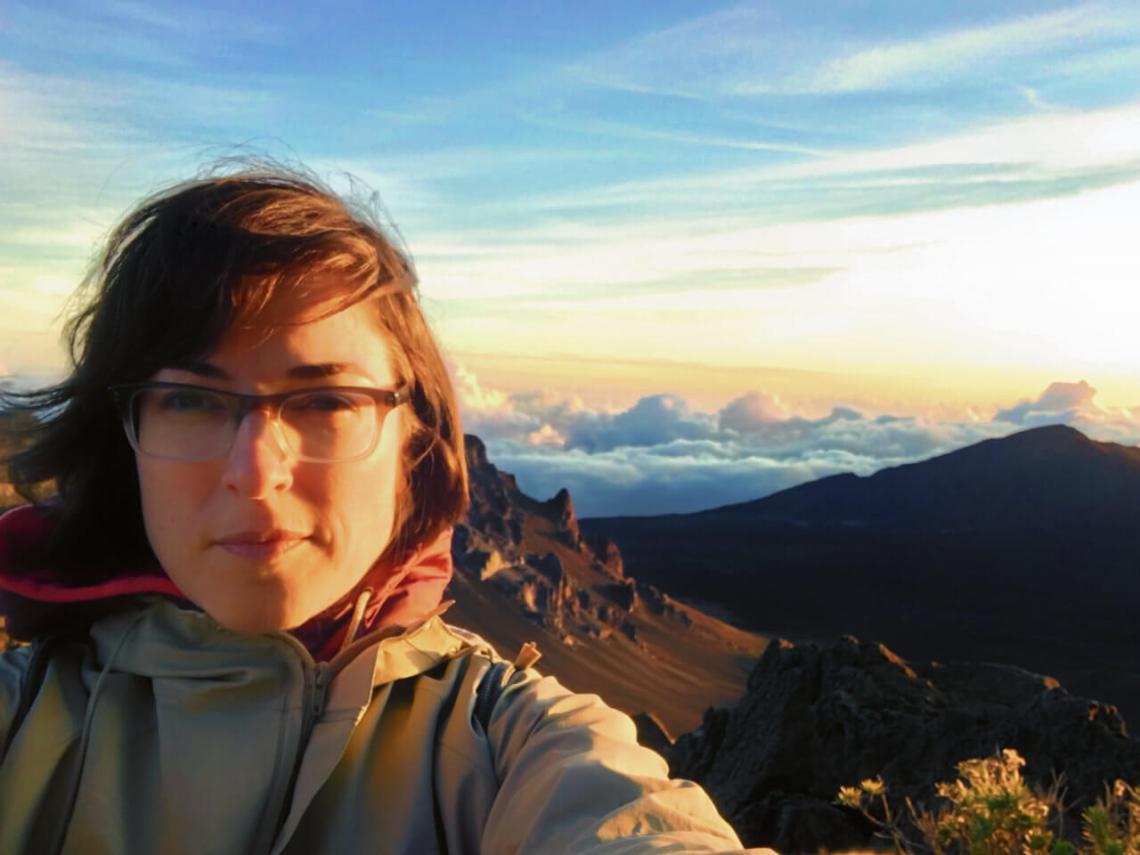 Sunrise in Haleakala, Maui