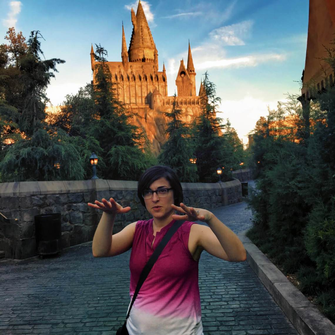 Visiting Hogwarts at Universal Studios