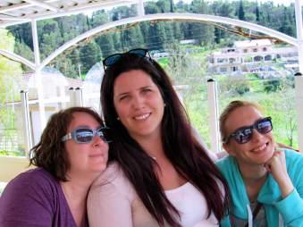 With Maja Gudelj and Beth Rubin in Italy