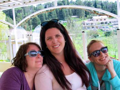 With Maja Gudelj and Beth Rubin in Italy