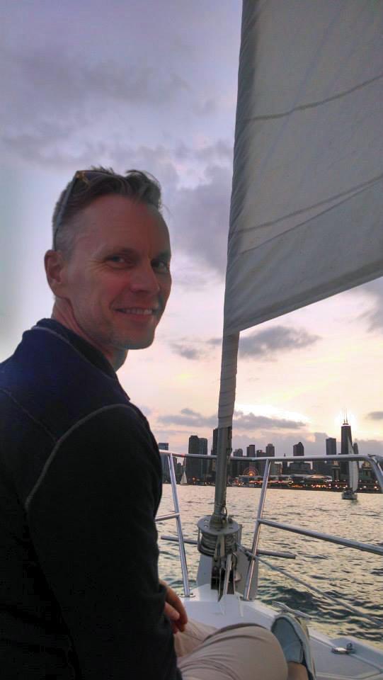 Boating on Lake Michigan, Chicago