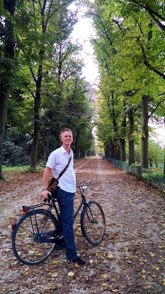 Biking in Modena, Italy