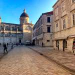 Stone squares in Dubrovnik's Old Town