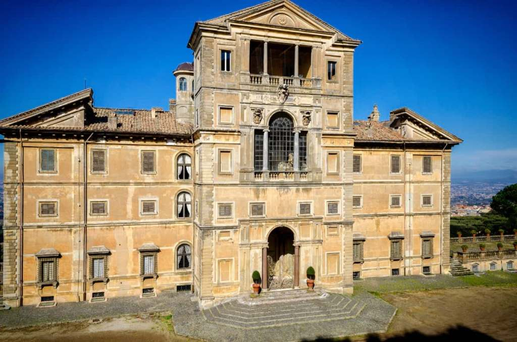 Day trips from Rome: Villa Aldobrandini in Frascati