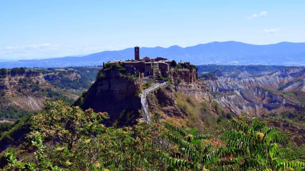 Day trips from Rome: Civita di Bagnoregio in Viterbo