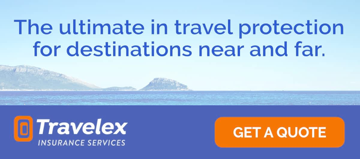 Travelex Insurance Services: The ultimate in travel protection for destinations near and far.