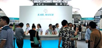 Professional audience from all over the world was captivated by KARL MAYER's machinery