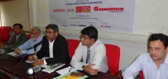 13th Edition of Garmentech Bangladesh-2014, 5th Edition of International Yarn & Fabric Sourcing Fair and 5th Edition of GAP expo-2014 press conference