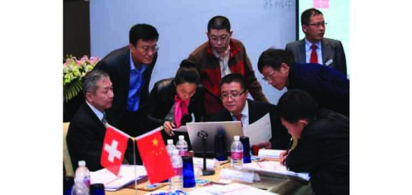 Teamwork at USTER® QUALITY UNIVERSITY 2016 in China