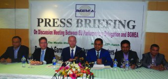 Meeting Between EU Parliamentary Delegation and BGMEA