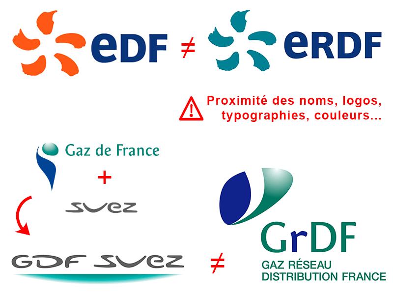 Logo EDF ERDF GDF GRDF