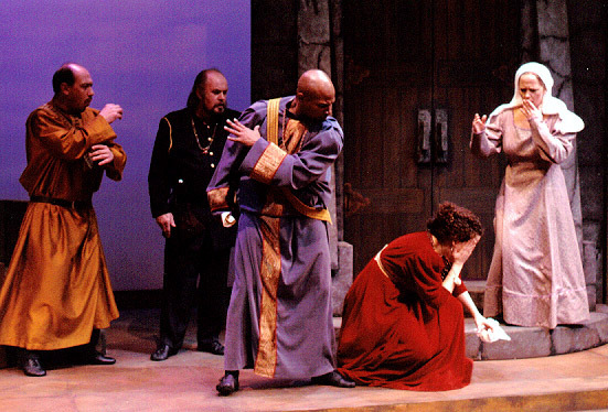 Image result for othello strikes her