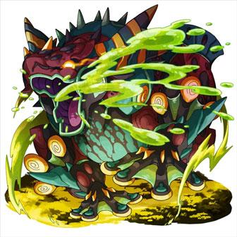 オセロニア [侵毒竜]ベノムバジリスク