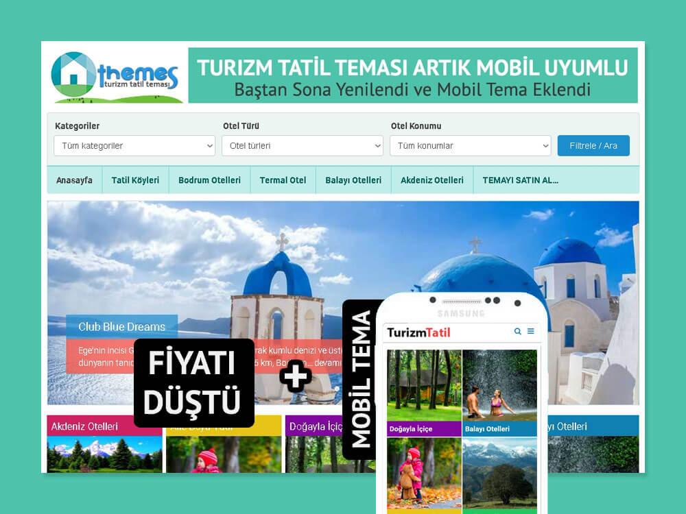 OthemesNET WordPress Turizm Tatil Teması