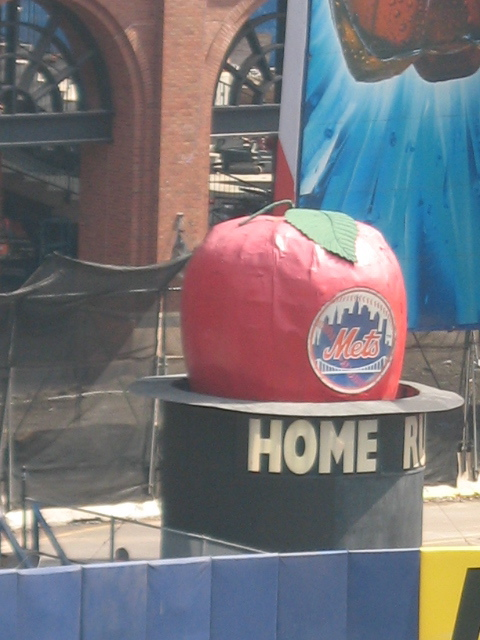 Mets Magic! A big apple for every home run.