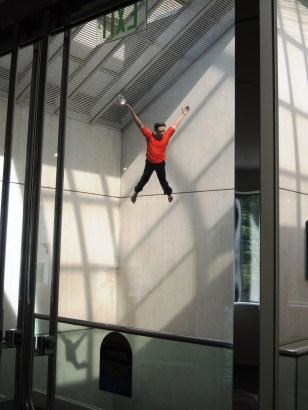 Jonathan Borofsky I Dreamed I Could Fly, 2001