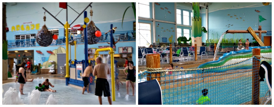 A family fun stay at Blue Harbor Resort and Waterpark in Sheboygan Wisconsin with a waterpark