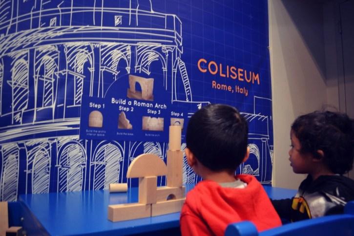 Kohl Children's Museum - Build It! - Roman-Arch