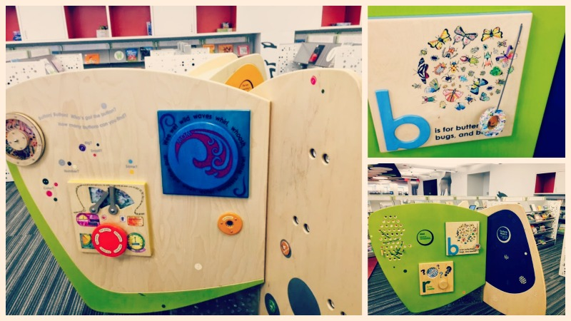 Barrington Area Library Fun Wall