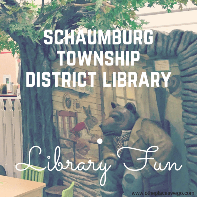Library Fun: Schaumburg Township District Library #NationalLibraryWeek