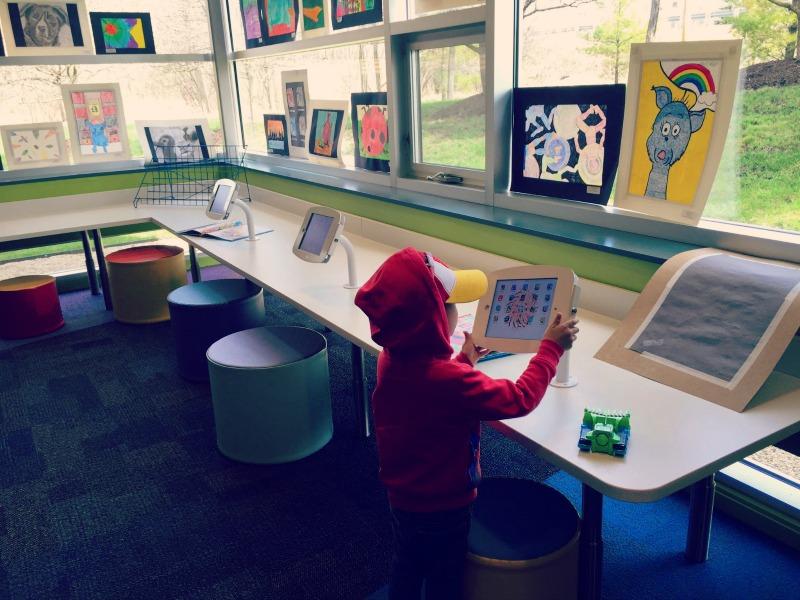 Wauconda Area Library iPads