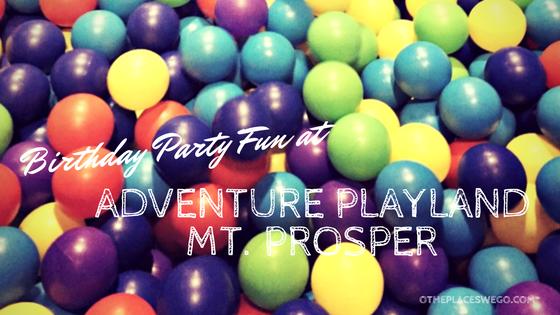 Having a birthday at Adventure Playland Mt. Prospect