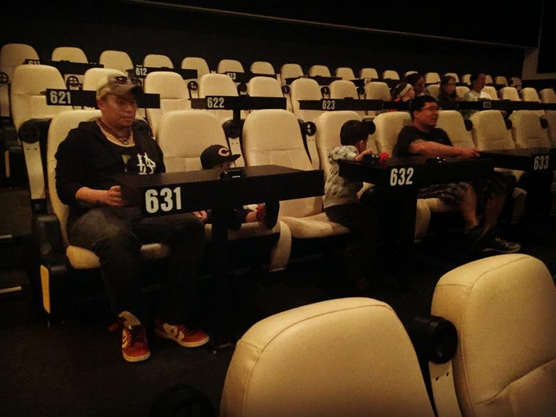Star Cinema Grill Seating
