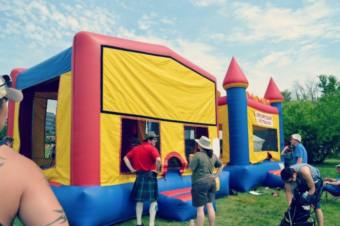 Highland and Scots Festival Bounce
