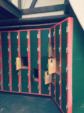 Santas Village AZoosment Park Lockers