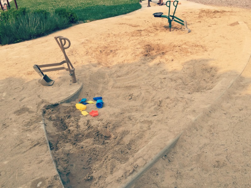 Fountain Square Park Elk Grove Village Playground SandPit