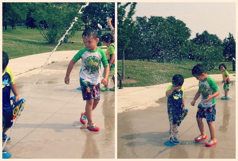Fountain Square Park Elk Grove Village Playground SplashPad 2