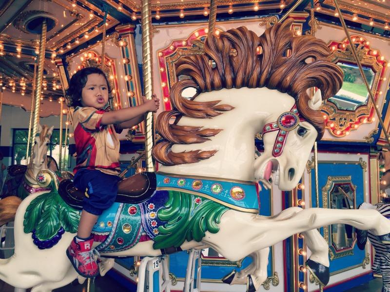 Jumps n Jiggles Elk Grove Village Carousel Face