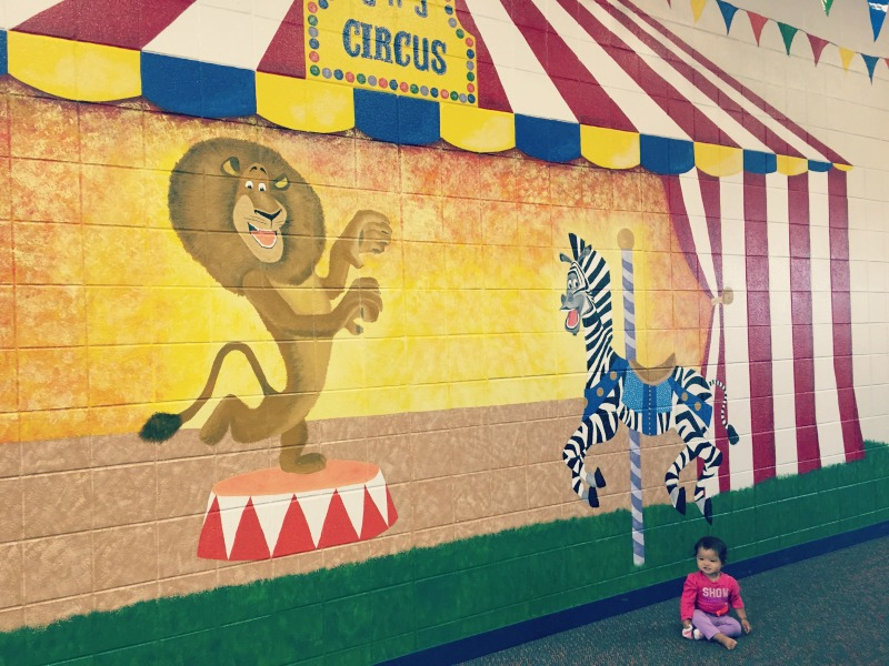 Jumps n Jiggles Elk Grove Village Playground Mural