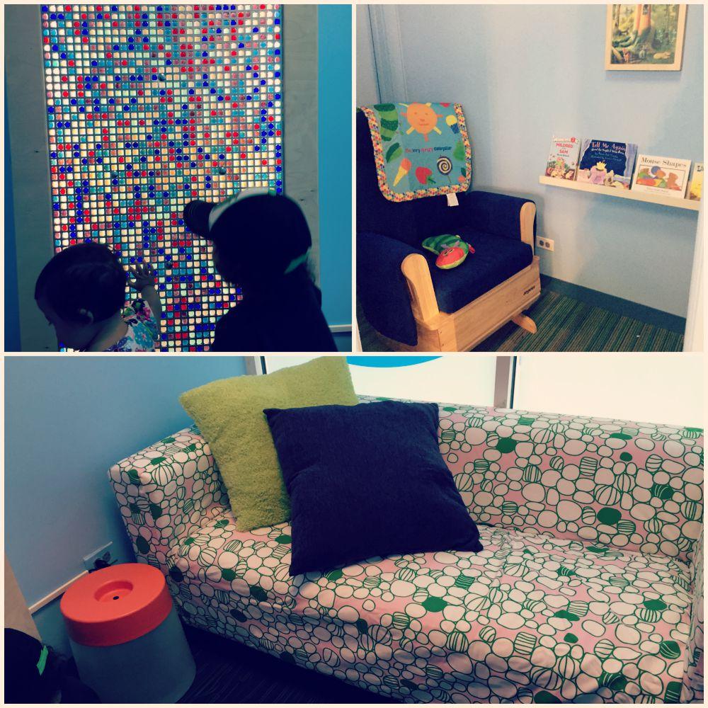 Nursing Stations at DuPage Childrens Museum