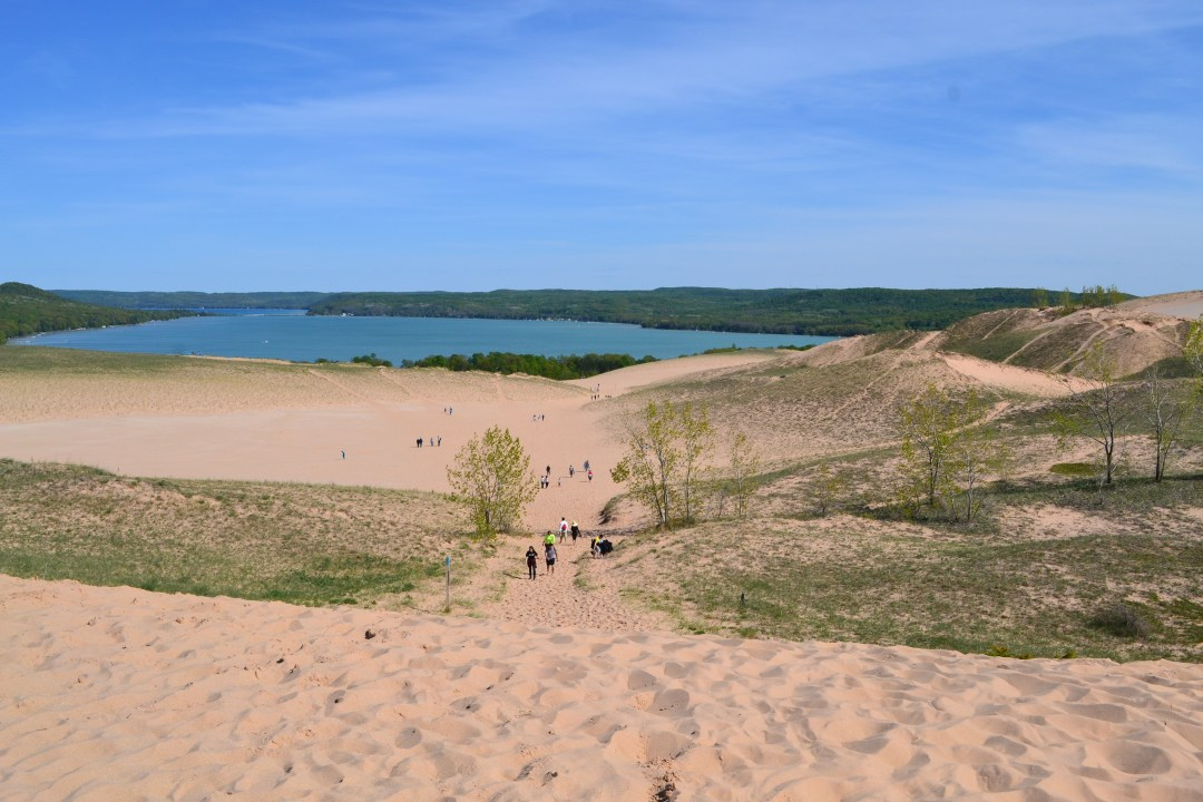Tips to conquer Sleeping Bear Dunes with toddlers