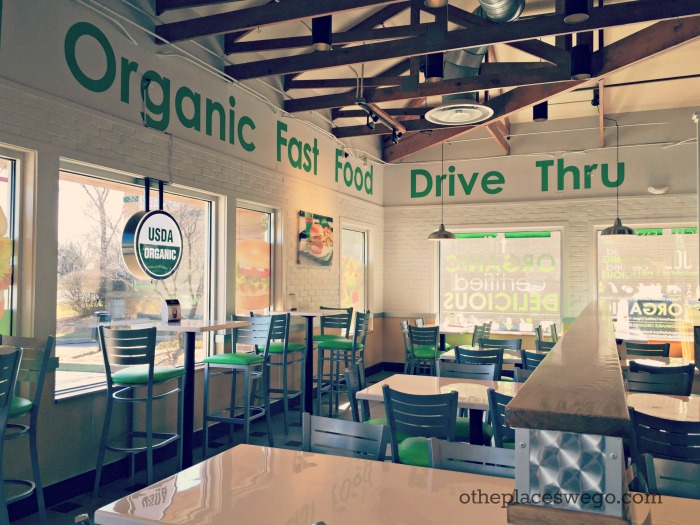 Nic's Organic Fast Food Rolling Meadows - America's First Organic Fast Food Restaurant