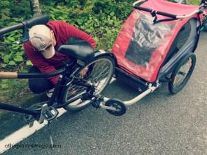 Biking Mackinac Island - Bike Repair