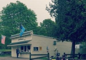 Biking Mackinac Island - British Landing Food