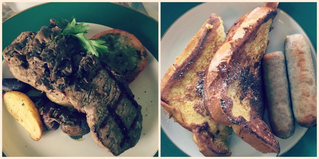 Grand Hotel Mackinac Island - Breakfast Steak and French Toast