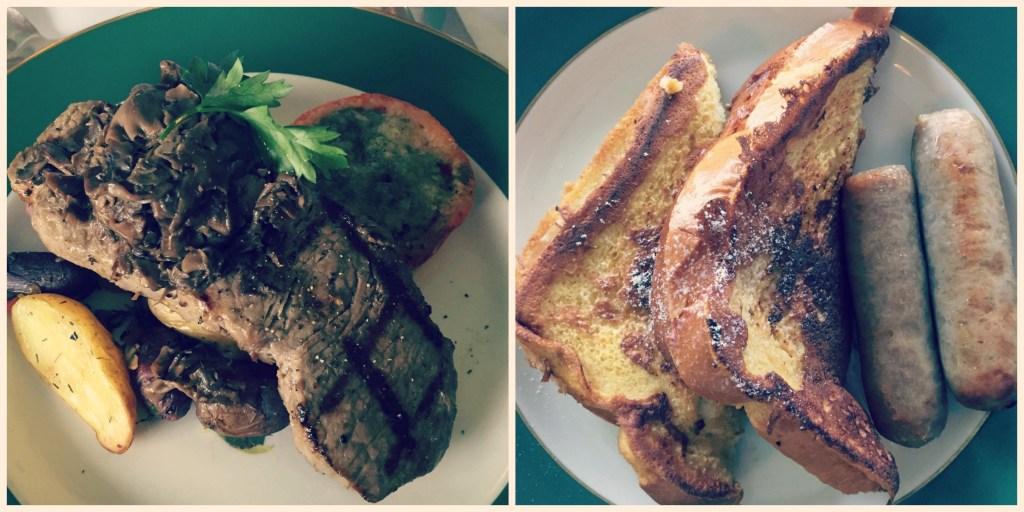 Grand Hotel Mackinac Island - Breakfast Steak and French Toast