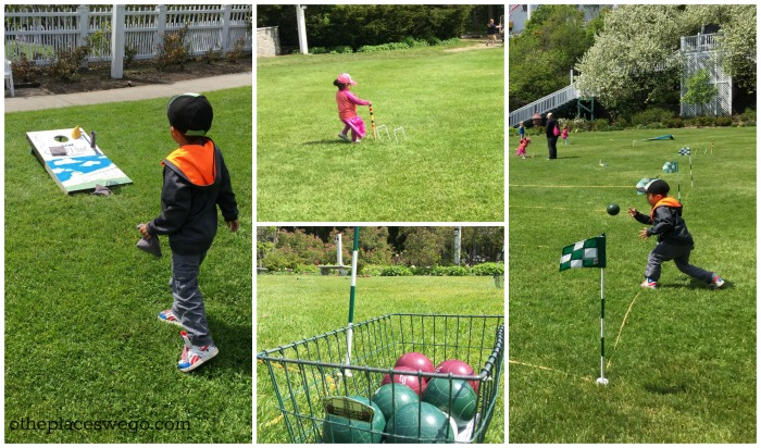 Grand Hotel Mackinac Island - Lawn Games