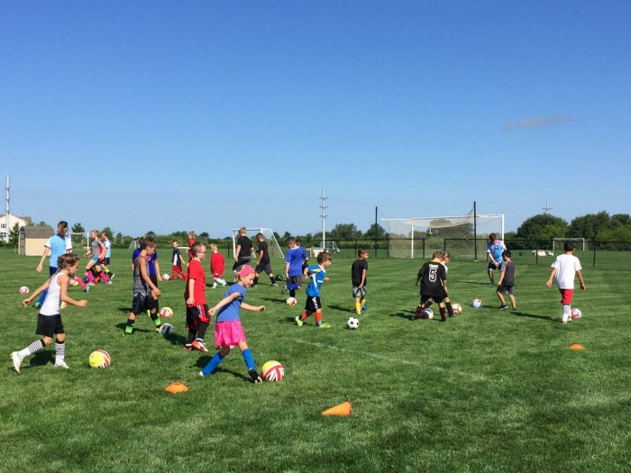 Review: Learning soccer skills at Challenger Sports British Soccer Camp