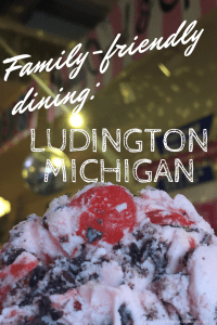 Family-friendly dining in Ludington, Michigan