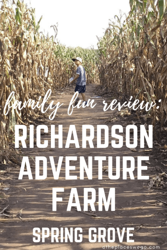 Fall fun at Richardson Adventure Farm, World's Largest Corn Maze
