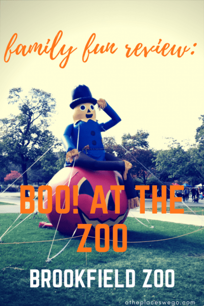 A sweet time at Brookfield Zoo's Boo! at the Zoo
