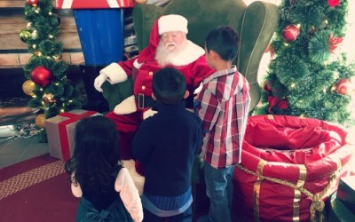 Family Holiday Fun at Oakbrook Center: Santa, Ice Skating, and Holiday Shopping!