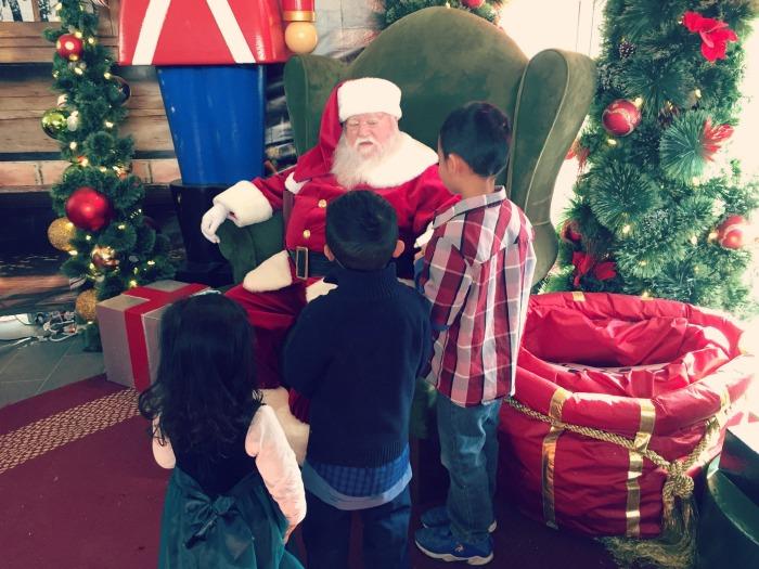 Family Holiday Fun at Oakbrook Center: Santa, Ice Skating, and Holiday Shopping!