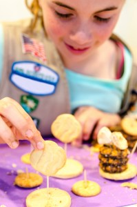 Set a world record at Girl Scouts Cookie Rally